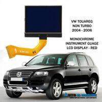 VW TOUAREG  MONOCHROMATIC LCD VDO DISPLAY SCREEN 2003 - 2009 UK SELLER.. NEW