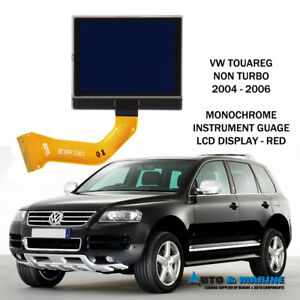 VW TOUAREG  MONOCHROMATIC LCD VDO DISPLAY SCREEN 2003 - 2009 UK SELLER.. NEW