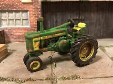 John Deere 720 Rusty Weathered Custom 1/64 Diecast Farm Tractor Barn Find Dirty