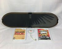 Wii Tony Hawk Ride Skateboard with 2 Games & Wireless Dongle TESTED