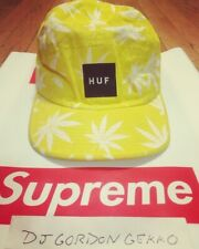 HUF PLANTLIFE YELLOW 5 PANEL CAP 2007 2008 SUPREME CAMP HAT PLANT LIFE WEED POT