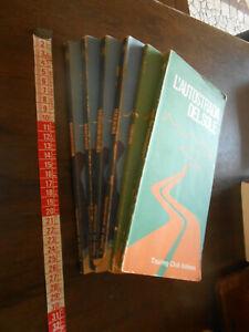 LIBRO:stock 6  volumi L'Italia in automobile dal 1953 al 1966 CTI itinerari
