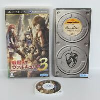 PSP SENJO NO VALKYRIA 3 UMD PS Portable