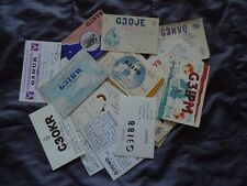 Joblot x50 Amateur Ham Radio QSL cards from Uk England 1960s lot4