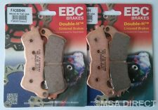 Honda CBF1000 ABS models (2006 to 2016) EBC FRONT Sintered Brake Pads (FA388HH)