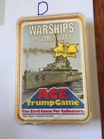 Warships Of World War 1 - Ace Trump Top Trumps Card Game - Sealed - New