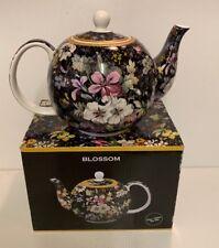 The Leonardo Collection Fine China Tea Pot - Blossom