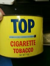 New listing Top Cigarette Tobacco Tin Gibson Tag gummed cigarette papers inside empty nice