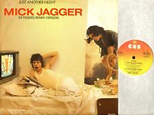 "MICK JAGGER (OF THE ROLLING STONES) just another night 12"" EX/EX- TA 4722"
