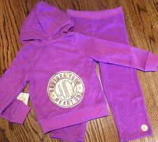JUICY COUTURE BABY/KIDS GIRLS BRAND NEW SET HOODED SPORT SUIT Size 18-24M, NWT