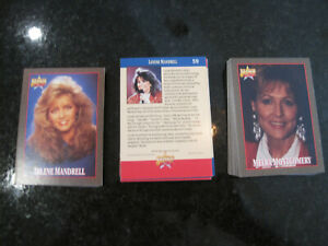 BRANSON  ON  STAGE 100  TRADING  CARDS 1992  COMPLETE 2 SET lot free shipping