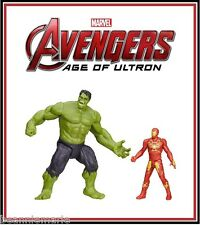 Hasbro Marvel - Avengers Age of Ultron - Hulk & Ultron Hunter Iron Man set of 2