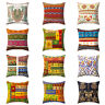 Vintage Bohemian Ethnic Throw Pillow Case Home Sofa Decor Cushion Cover Sightly