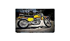 1975 Maico 501 Bike Motorcycle A4 Photo Poster