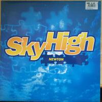 "Newton  – Sky High Vinyl 12"" Single UK BAGST6 1994"