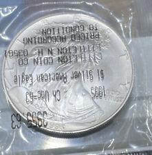 1995 Silver Eagle Rare Date Littleton Coin Company Sealed