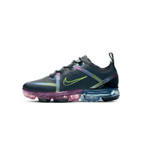 NEW NIKE AIR VAPORMAX 2019 Bubble Pack Black (GS) SZ 7Y/ 8.5 WOMENS CT8638-001
