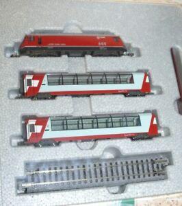 HS Noch 7074030 Kato  10-1145 Glacier Express Grundeinheit RhB E Lok Ge 4/4 Sp N
