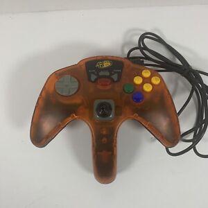 Mad Catz Nintendo N64 Advanced Wired Controller w/ Turbo & Slow Mo Orange