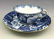Antique Royal Crown Derby England Mikado Tea Cup Saucer
