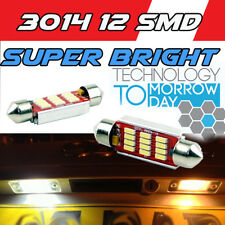 2x BMW 3 Series E30 Bright Xenon White LED Number Plate Upgrade Light Bulbs