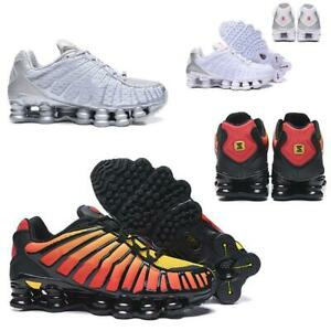 Athletic Mens TN Vapor Sneakers Shox R4 Trainers Rainbow Sports Running Shoes