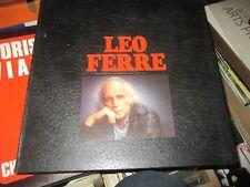 GROS COFFRET 8 x 33T LP LEO FERRé