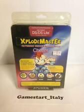 XPLODEMASTER - XPLODER CHEAT SAVES NINTENDO DS NEW MAI APERTO NUOVO