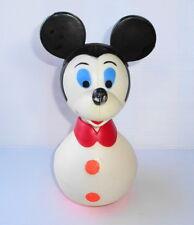 Culbuto ancien Educo France Mickey Mouse noir&blanc Walt Disney Production 20cm