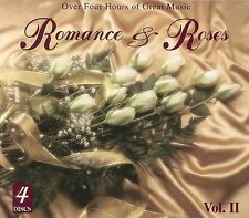 ROMANCE & ROSES-4 CD BOX SET-CLASSICAL & E.L. MUSIC-LIKE NEW/PLAYED ONCE