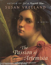 THE PASSION OF ARTEMISIA - Susan Vreeland (USA Cassette Audio Book)