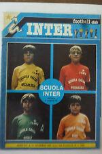 INTER FOOTBALL CLUB N 12  1980 - OTTIMO - poster caricatura G. BINI