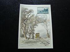 FRANCE - carte 8/3/1952 journee du timbre aix-les-bains  (cy10) (Z)
