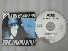 CD-BASS BUMPERS-Runnin'-Tequila-Trance Radio- (CD SINGLE)-1993-Germany-