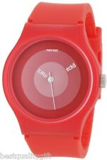 SPECIAL EDITION MARC ECKO ARTIFAKS ALL RED BAND+DIAL WATCH E06527M1-NEW+BOX