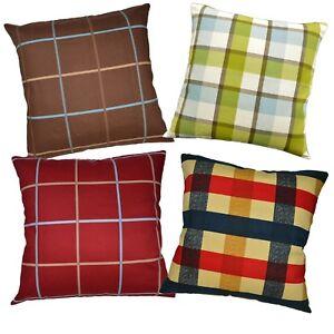 Pillow Cover*A-Grade Cotton Canvas Sofa Seat Pad Cushion Case Custom Size*LL4