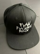 Famous Stars And Straps Black Unisex Punk Cap Travis Barker, Blink-182, Festival