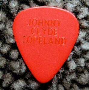 Johnny Clyde Copeland // Vintage Tour Guitar Pick ~ RARE ~ MISSING FOIL John
