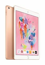 "APPLE IPAD 6TH GEN A1893 9.7"" Gold A10 CPU 32GB WIFI IOS TABLET"