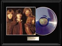 BADFINGER STRAIGHT UP  WHITE GOLD SILVER PLATINUM TONE RECORD RARE LP NON RIAA