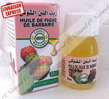Huile de Figue de Barbarie BIO 100% Pure & Naturelle 30ml Prickly Pear Oil