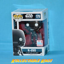 Star Wars: Rogue One - Action Pose K-2SO Pop! l #179 - NYCC 2017(RS) + PROTECTOR