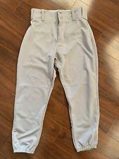 NWOT Boy's Alleson Athletic Gray Baseball Pants Size Youth Medium