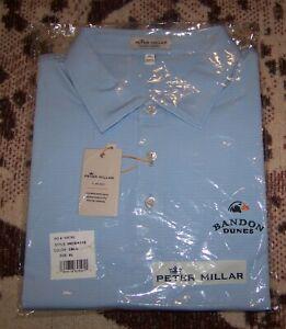 NEW PETER MILLAR SUMMER COMFORT Polo Shirt BANDON DUNES GOLF CLUB Sz XL TOP 100