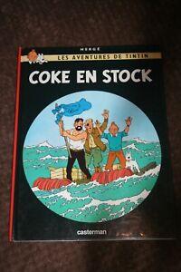 tintin coke en stock HERGE - Casterman French