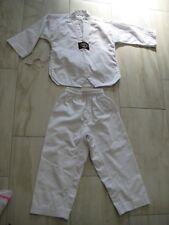Boys Martial Arts Uniform size 00 White Tae Kwon Do Uniform