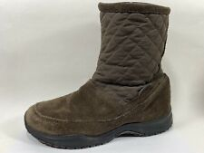 Eddie Bauer Suede Leather Winter Boots Womens 8M