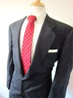 Ermenegildo Zegna Dark Gray Wool Two Button Blazer Size 42