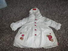 PAMPOLINA 6-9 CREAM WINTER COAT GORGEOUS EMBROIDERED BEADED AND MORE
