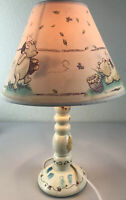 "Winnie The Pooh Lamp Bee Nursery with Lamp Shade 16"" Tall"